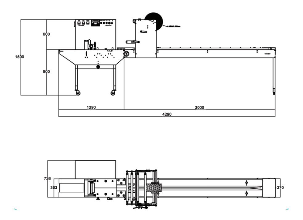 Desenho Técnico Embaladora Horizontal